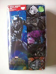 Marvel Boys 5-Pack Black Panther Brief Underwear