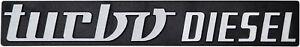 Auto-Relief-Schild-3D-turbo-DIESEL-Emblem-HR-Art-14474-selbstklebend