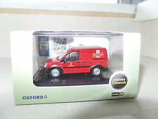Oxford 76FTC001 FTC001 1/76 Ford Transit Connect Van Post Office Royal Mail Red