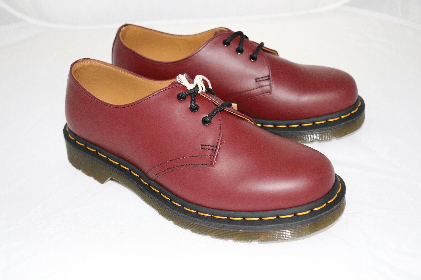 Dr Martens  3-Loch Leder cherry rot rot  neu Gr 39 1461