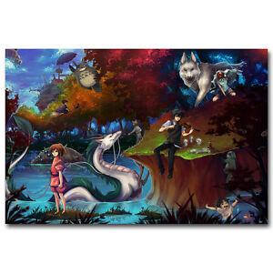 Mermaid Art Silk Poster 12x18 24x36