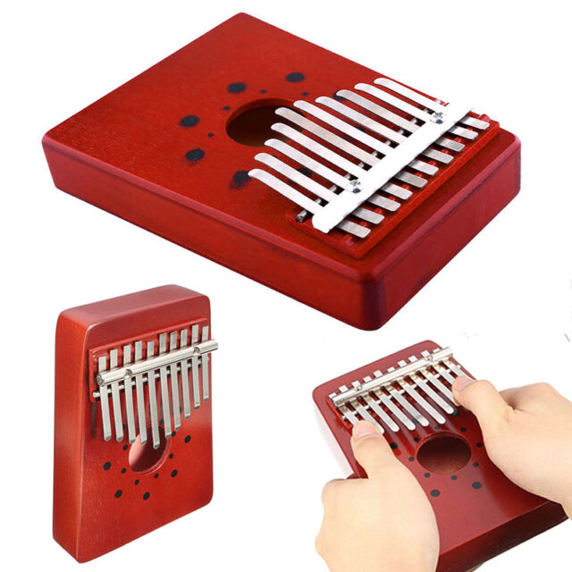 10 Keys Kalimba Mbira Thumb Piano Traditional Musical Instrument Accompaniment L