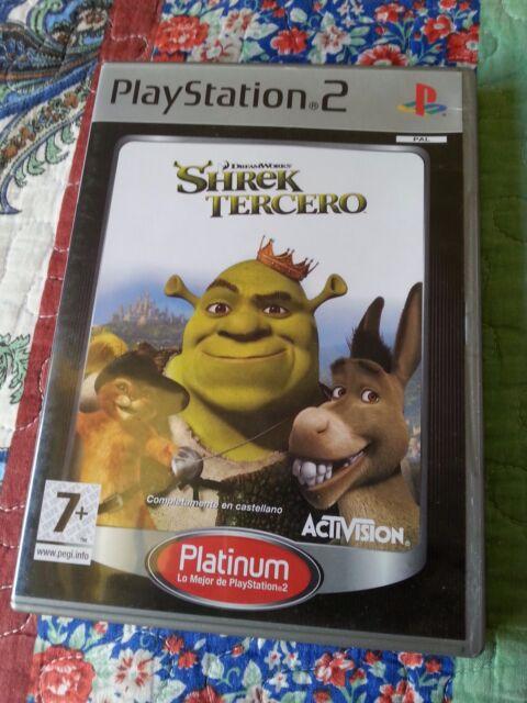 JUEGO DE PS2 SHREK TERCERO PAL