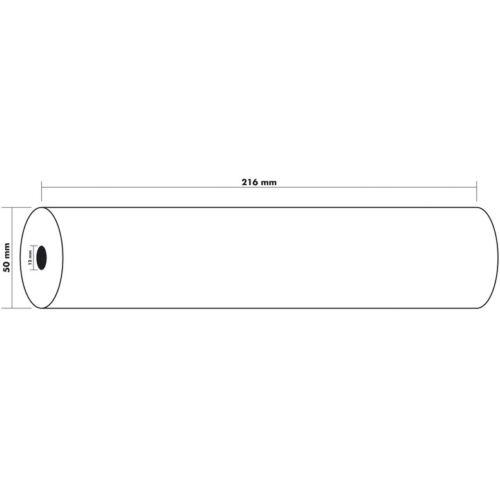 6x EXACOMPTA Thermo Faxpapier Faxrolle Thermorolle 55g je 216 x 30m x12-40924E