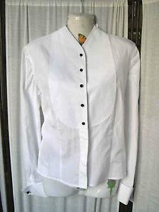 san francisco d7285 5d264 Dettagli su Giorgio Armani Classico camicia in cotone tg 40 elegante con  bottoni neri