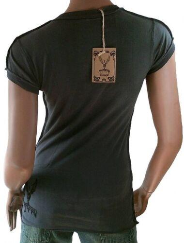 shirt Amplifié Double Strass Rock T Vip avec Zunge Vintage Star g5H8q5xdnz