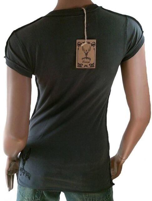 AMPLIFIED Vintage BLONDIE Debbie Harry Strass 70 80/' Star ViP T-Shirt g.XS S M L