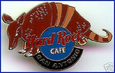 Hard Rock Cafe SAN ANTONIO 1999 ARMADILLO PIN with HRC LOGO Mint New!