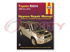 Toyota RAV4 Haynes Repair Manual Base L Sport Limited Shop Service Garage om