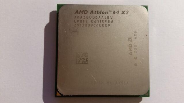 AMD Athlon 64 X2 3800+ 2 GHz (ADA3800DAA5BV) Prozessor 939 + Wärmeleitpaste