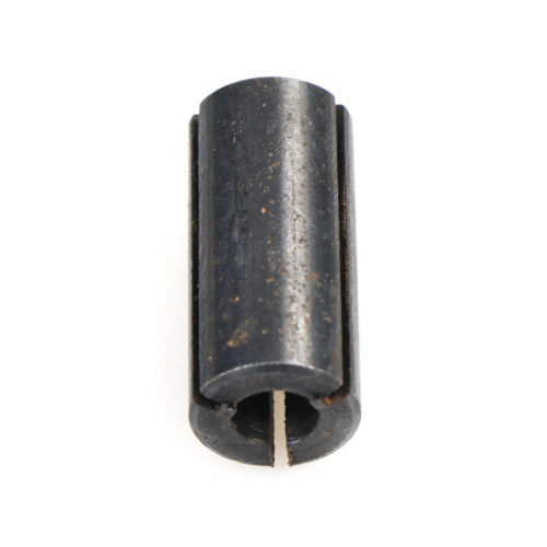 """1//2/"""" to 1//4/"""" Carbon Steel Black Router Collet Reduction extender Sleeve Tool ^P"""