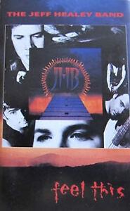 The Jeff Healey Band - Feel This (Cassette, Album) -MINT-SEALED- NEW-SIGILLATA - Italia - The Jeff Healey Band - Feel This (Cassette, Album) -MINT-SEALED- NEW-SIGILLATA - Italia