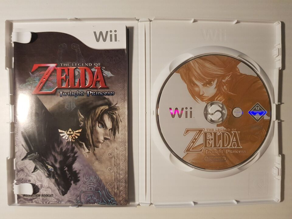 Zelda, twilight princess, Nintendo Wii