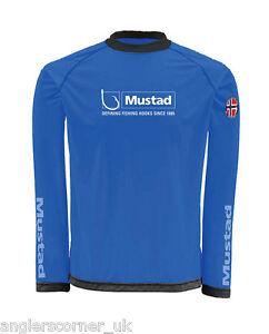 Mustad Day Perfect Shirt / Black / Blue / Clothing / Fishing / Leeda