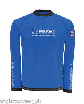 Mustad Day Perfect Fishing Tournament Shirt Large UV Protection UPF-30 Sorbetek