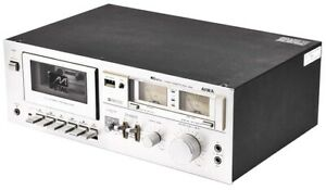 Aiwa-M250-Single-Deck-Full-Automatic-Stop-Mechanism-Metal-Stereo-Cassette-Player