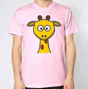 Giraffe T-Shirt Animal Lover Graphic Design Top