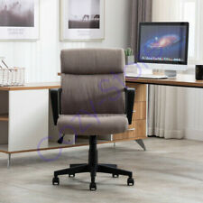 360 Swivel Task Chairoffice Chair Executive Desk Fabric Chair With Pu Leather