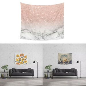 ITS-KQ-Sunflower-Marble-Pattern-Wall-Tapestry-Beach-Towel-Blanket-Home-Decor-S