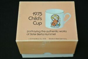 Vintage 1975 Child's Cup Portraying the Authentic Works of Sister Berta Hummel