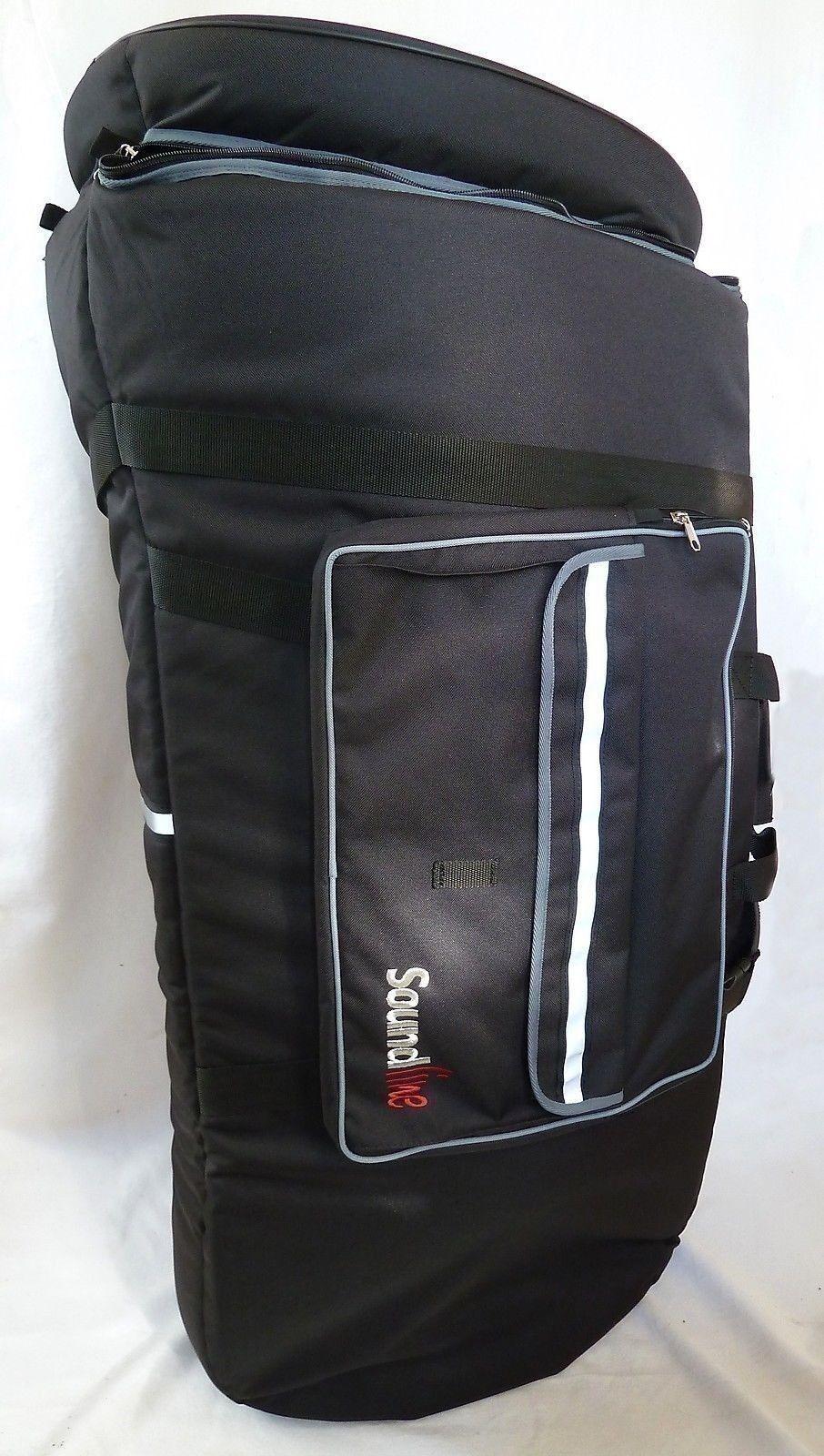 Gig-Bag Tasche Bb Tuba Bell 48   H 106cm fit for Melton 195 Fafner Fabr. PEMA
