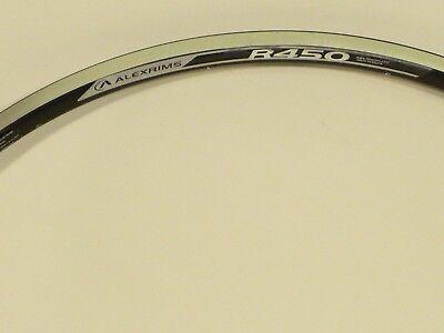 Alex R450 700c Alloy Rim 32 hole Silver With Machined Sidewalls PV  AR6