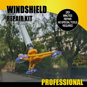 Professional-Quality-Windshield-Repair-Kit-Glass-Corrector-Set-New-Free-Shipping