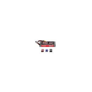 Venom 20C 2S 3200mAh 7.4V Hard Case LiPo Battery with Deans Traxxas EC3 Plug
