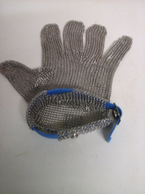 Stechschutzhandschuhe, Kettenhandschuh Sicherheits-Handschuh, Einzeln Metzger M
