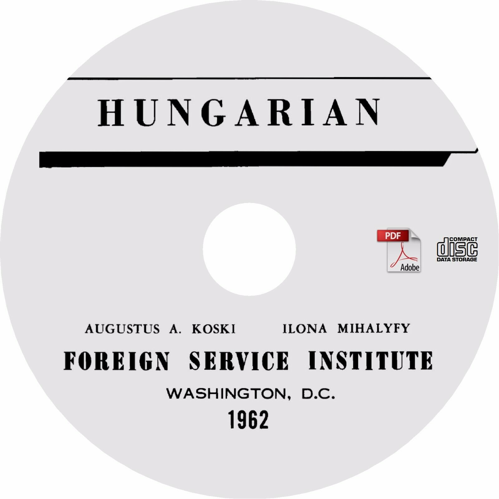 Learn To Speak Hungarian Complete Language Training Course on Audio CDs