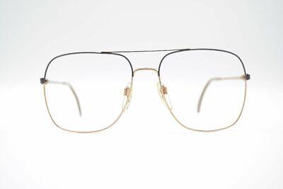 Amabile Vintage Hampel 3259jk 57 [] 19 150 Oro Marrone Ovale Occhiali Eyeglasses Nos-mostra Il Titolo Originale