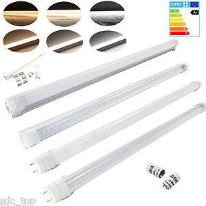 t8 led r hre tube leuchtstoffr hre leuchtstofflampe komplett lichtleiste r ehre ebay. Black Bedroom Furniture Sets. Home Design Ideas