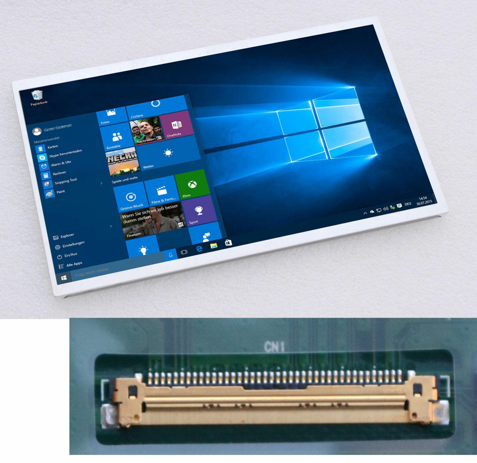 "25,7CM 10,1"" 1024x600 TFT LED Display TFT Screen CHUNGHWA CLAA101NB01A T106"