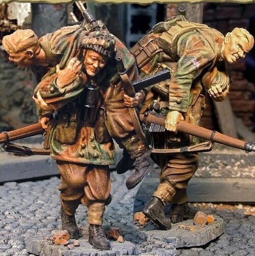 THE COLLECTORS SHOWCASE WW2 BRITISH CS00269 RED DEVIL WOUNDED TEAM MIB