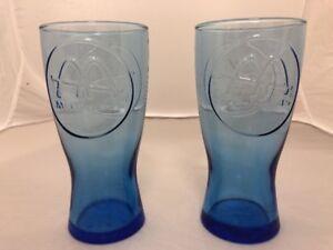 Deux Mcdonald's Retro 1961 Logo Lunettes, Bleu Cobalt-afficher Le Titre D'origine Cjhosemk-08003539-104193858