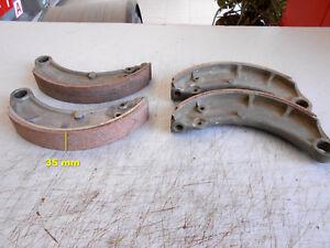 FIAT-1100-103-alluminio-4-GANASCE-FRENO-Larghezza-35-mm-844237