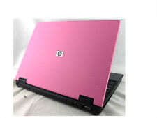"CHEAP PINK WINDOWS 7 HP Compaq 14.1"" Laptop - Core 2 Duo 2GB RAM 60GB HDD WiFi"