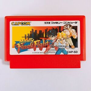 Mighty-Final-Fight-Nintendo-Famicom-FC-NES-Japan-game-tested-and-working