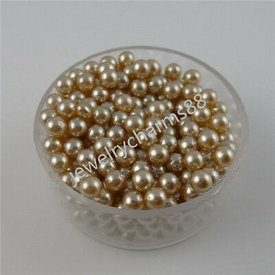 100pcs/lot 3mm Pearl FOR Memory Living Glass Locket Floating OR Jewelry Pendant