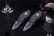 Multi Windproof Refill Butane Gas Black Cigarette Lighter Folding Knife New