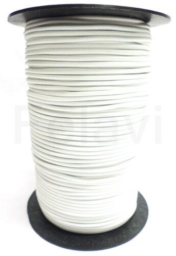 25 Meter Gummiseil 3 mm Seil Expanderseil weiß Expanderseil Kordel 92 €0,38//m