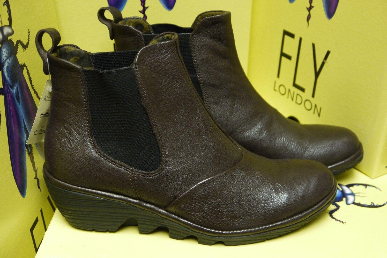 Fly London Para Mujer Prep Prep Prep Dark marrón botas Varios Tamaños Disponibles 6 7 8 9 10  grandes ahorros