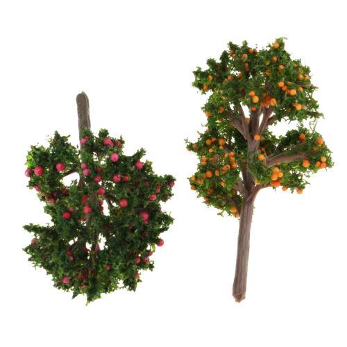 1//12 Puppenhaus Miniatur Baumpflanzen für Fairy Garden Dekoration Zubehör