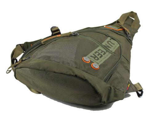 Waterproof Sling Shoulder Back Pack Travel Hiking Oxford Men Messenger Chest Bag