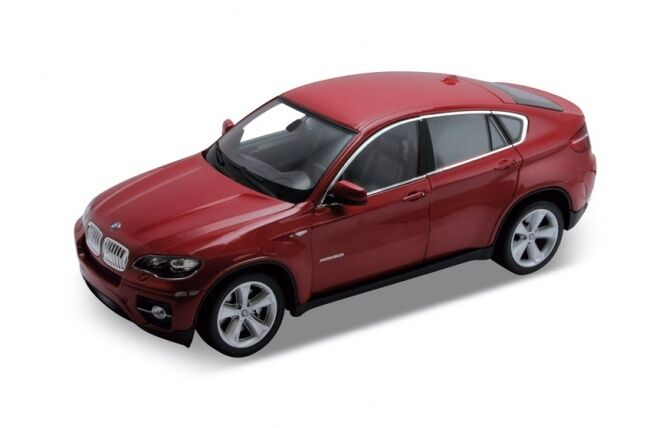 1 18 scale BMW X6 Red Diecast Model Welly