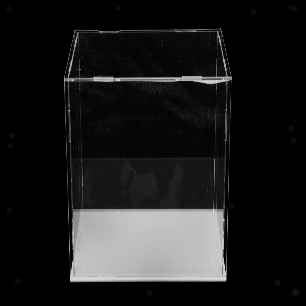 Acrylic Display scatola Dustproof Case bambolas mostrare Prossoection struessitos 40x40x40cm