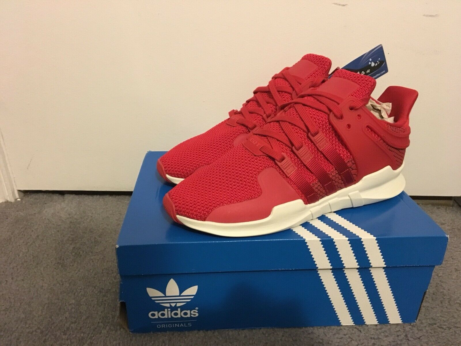 Adidas Men's EQT Support ADV shoes 91-16  Size 10.5 10.5 10.5 Red bf68e4