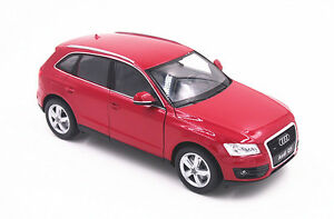Free-Shipping-1-24-Welly-Audi-Q5-Red-Diecast-Model-Toy-Car-Vehicle-New-in-Box