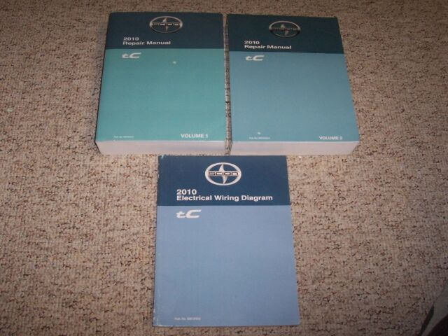 2010 Scion Tc Shop Service Repair Manual Set   Electrical