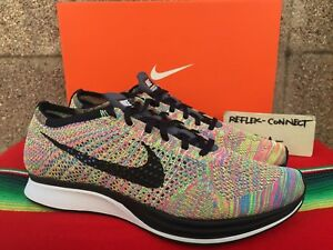 premium selection 75084 229be Image is loading DS-NIKE-FLYKNIT-RACER-2016-3-0-multicolor-
